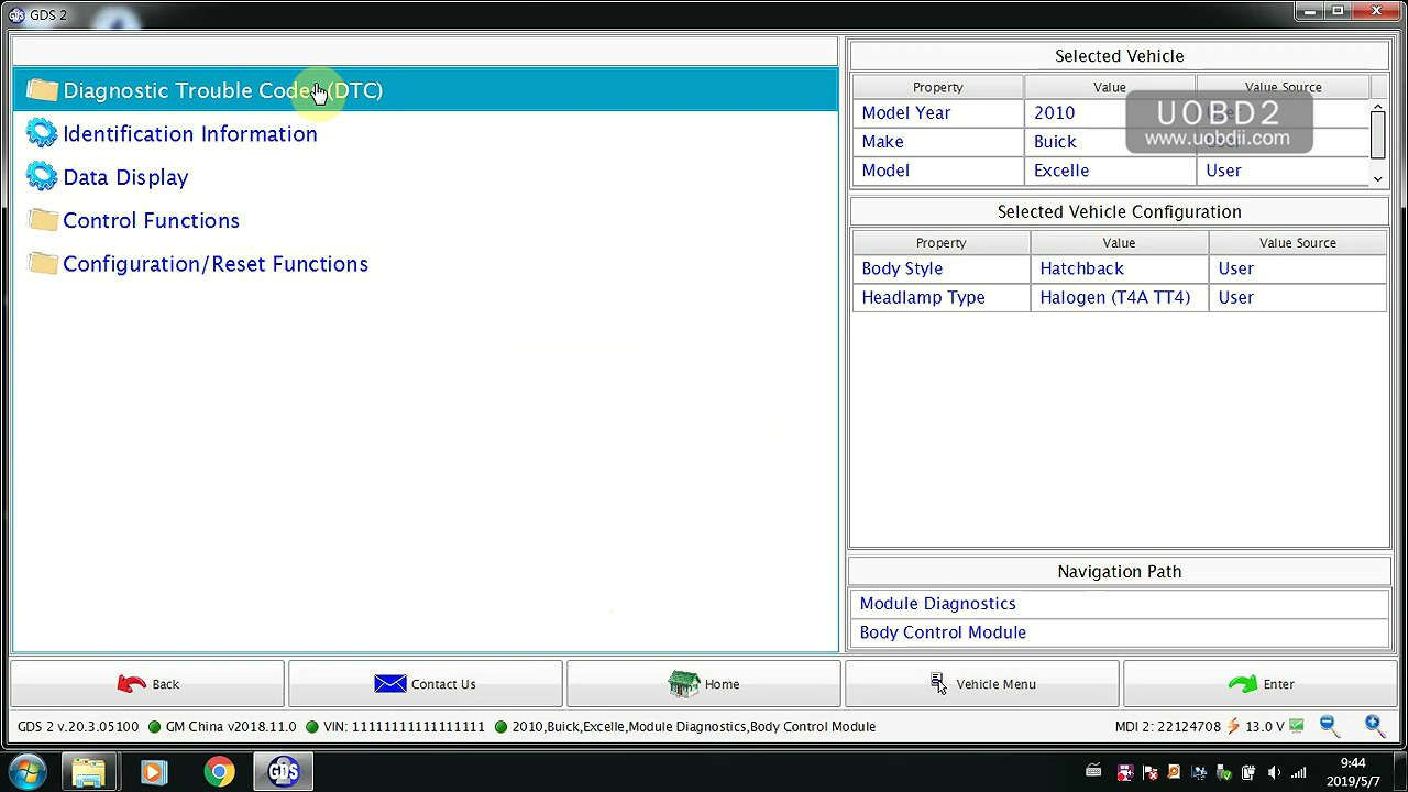 vxdiag-gm-gds2-no-valid-lease-found-solution-19